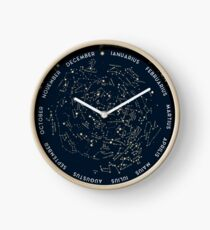 Come with me to see the stars Clock