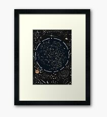 Come with me to see the stars Framed Print