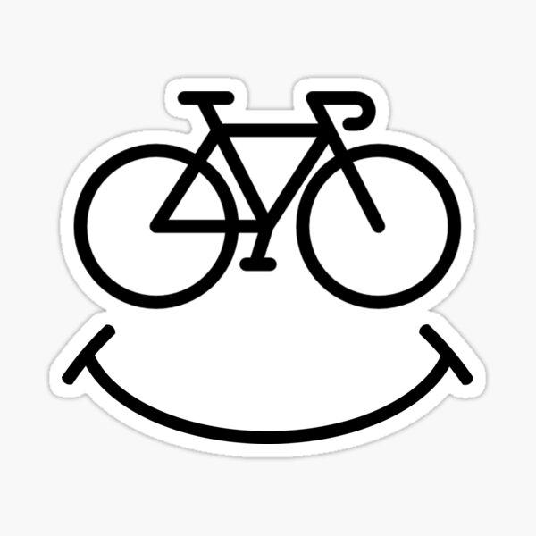 Sourire de bicyclette Sticker