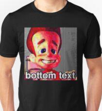 Jimmy Neutron Deep Fried Meme Unisex T-Shirt
