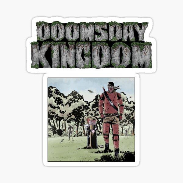 Doomsday Kingdom LOGO & Feeding Post Sticker