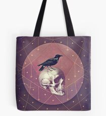 Bolsa de tela Crow and Skull Collage