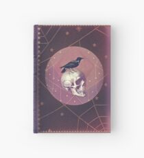 Crow and Skull Collage Hardcover Journal