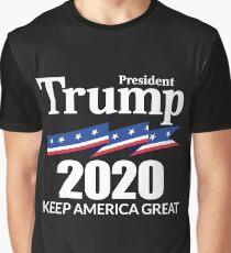 President Trump 2020 - Keep America Great Graphic T-Shirt