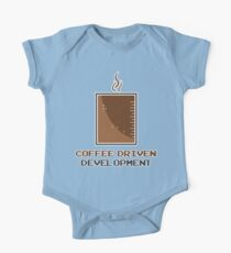 Coffee Driven Development  One Piece - Short Sleeve