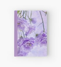 Campanella Blossoms Suspended - Macro Hardcover Journal
