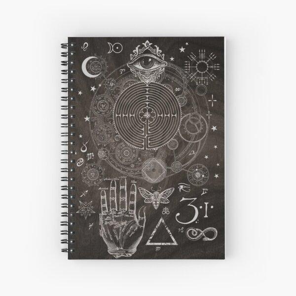 Magic Symbols for a Alchemist Dreamer Spiral Notebook