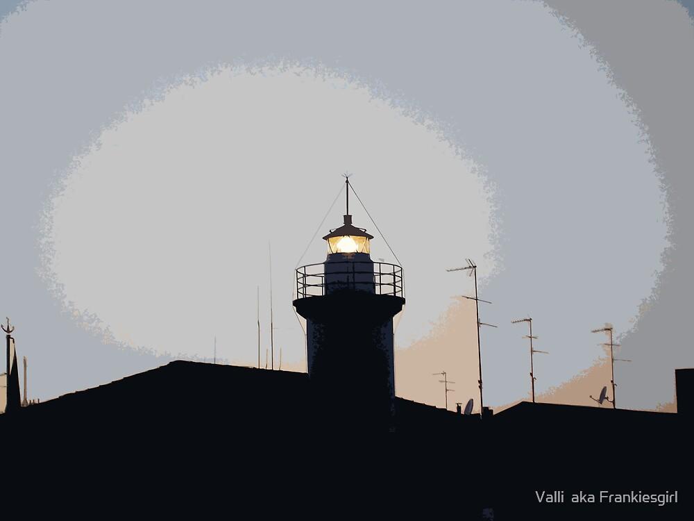 Lighthouse cutout by Valli  aka Frankiesgirl