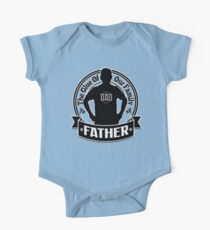 Father's Day - The Glue of the Family Gift One Piece - Short Sleeve