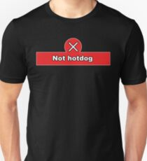 Not Hot Dog Silicon Valley Funny Quote Unisex T-Shirt