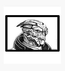 Garrus Vakarian: Mass Effect Photographic Print
