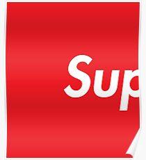 SUP Supreme Poster