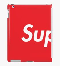 SUP Supreme iPad Case/Skin