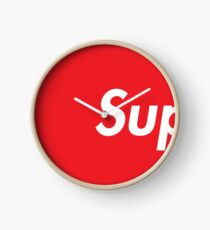 SUP Supreme Clock