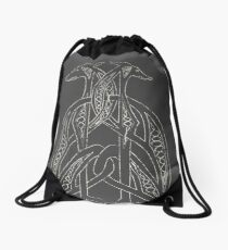 Totem Greyhound Drawstring Bag