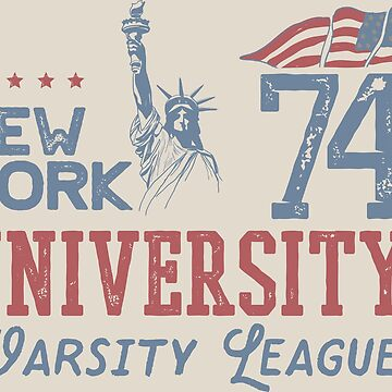NEW YORK VARSITY by mojokumanovo