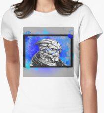 Garrus Vakarian: Mass Effect (Blue) Women's Fitted T-Shirt