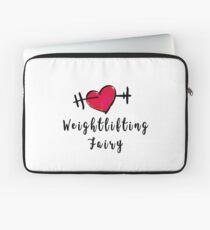 WeightLifting Fairy Heart Design Laptop Sleeve