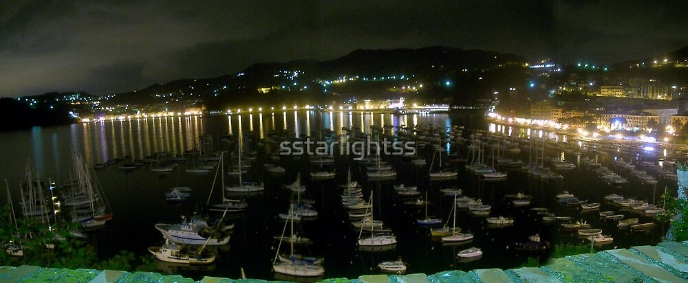 The Lerici's turistic harbour by sstarlightss