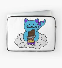 space kitten with cosmic crunch Laptop Sleeve