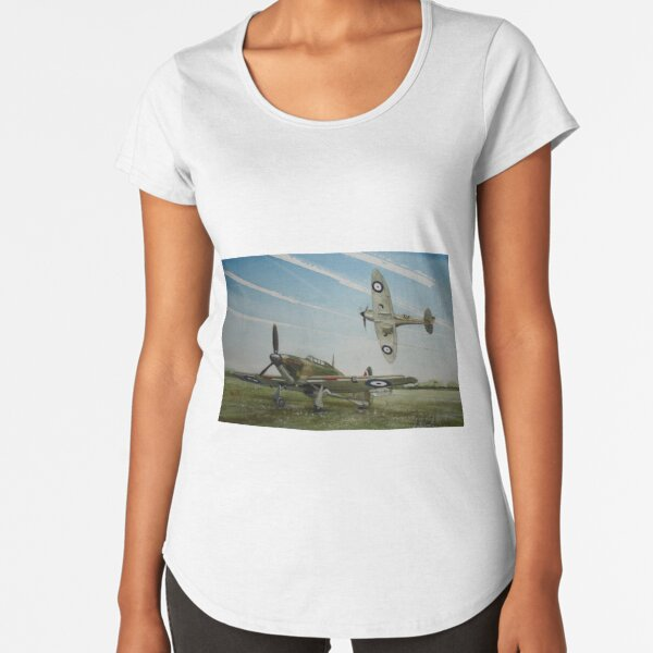 As I sigh at Summer's end Premium Scoop T-Shirt
