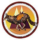 «Coyote que robó fuego» de Illustratorz