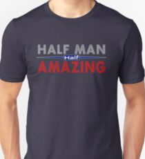 Father's Day Gift Ideas - Half Man Half Amazing T-Shirt