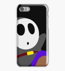 Dark Grey Shy Guy iPhone Case/Skin