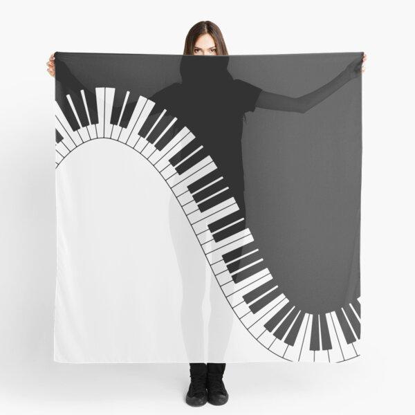 Piano Keyboard Scarf