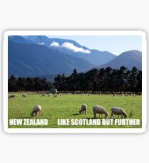 NEW ZEALAND- LIKE SCOTLAND Sticker
