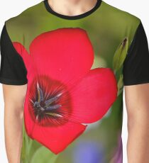 Red flower [ Product design ] Graphic T-Shirt