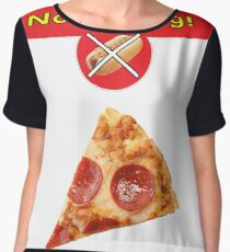 Silicon Valley - See Food App Shirt Chiffon Top