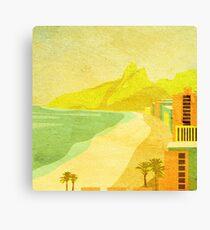 Ipanema Beach Rio de Janeiro Brazil Canvas Print