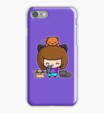 Cat Mom iPhone Case/Skin