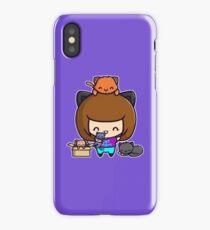 Cat Mom iPhone Case