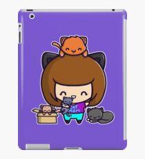Cat Mom iPad Case/Skin