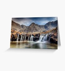 Fairy Pools  Greeting Card