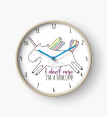 Reloj No me importa ¡Soy un unicornio!