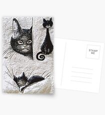 CATS  LOVE / My Creations Artistic Sculpture Relief fact Main 20  (c)(h) by Olao-Olavia / Okaio Créations Postcards