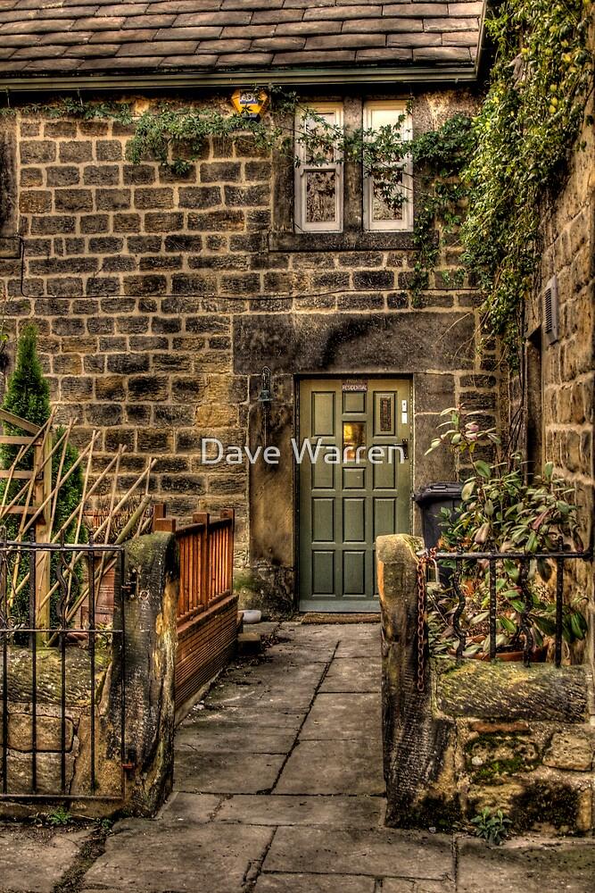 Green Door by Dave Warren