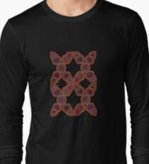 Kuna Mola Pattern  Long Sleeve T-Shirt