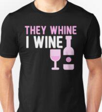 Camiseta unisex vino - ellos vino, yo vino