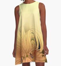 elegantes fraktales Muster A-Line Dress