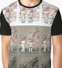 Rush Hour Parking, Too Graphic T-Shirt