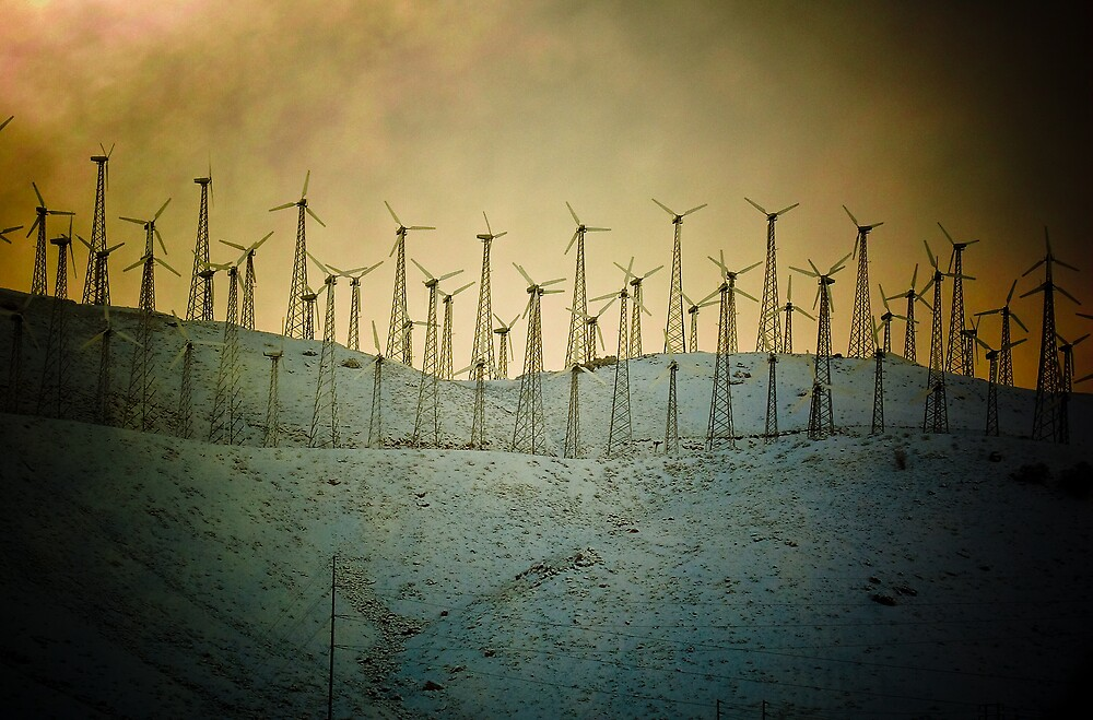 Old Tehachapi Windmills~ by herizon1