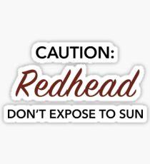 Roter Sunn Sticker