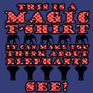 Magic T-Shirt (red) by HandDrawnTees