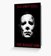 Boogie man Greeting Card