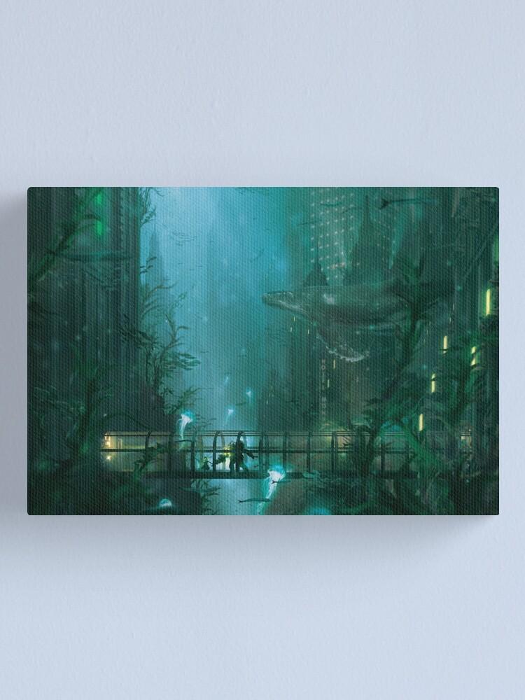 Alternate view of Rapture Walk  Canvas Print