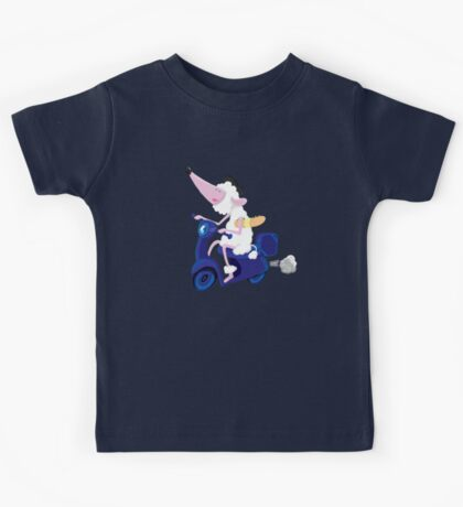 Le French poodle (de Moped Traveller with yummy Baguette) Kids Clothes